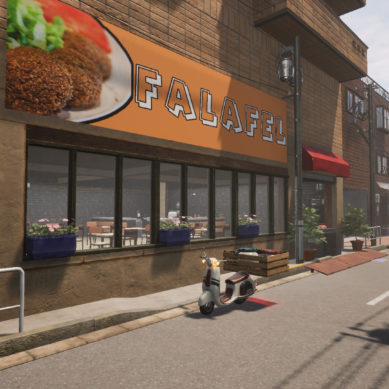 FALAFEL Restaurant Simulator